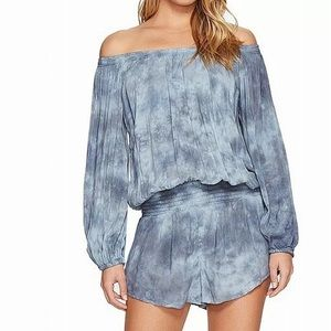 Blue Life Women's Slouchy Off-Shoulder RomperNWT